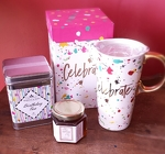Birthday Travel Mug and Tea Set