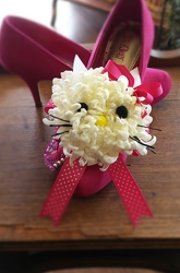 Hello Kitty Corsage from Twigs Flowers and Gifs in Yerington, NV
