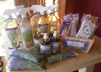 Lavender Home Collection from Twigs Flowers and Gifs in Yerington, NV