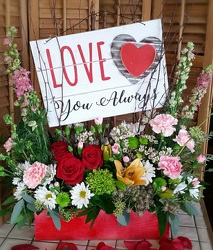 Love You Always from Twigs Flowers and Gifs in Yerington, NV