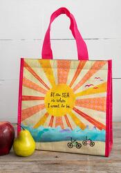 'By the Sea' Lunch Tote from Twigs Flowers and Gifs in Yerington, NV
