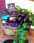 Plant & Chocolate Gift Basket