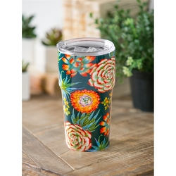 Succulents Travel Cup  from Twigs Flowers and Gifs in Yerington, NV
