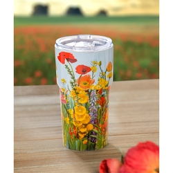 Wildflower Travel Cup  from Twigs Flowers and Gifs in Yerington, NV