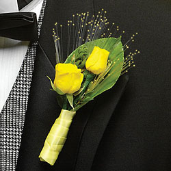 Magic Lights Boutonniere from Twigs Flowers and Gifs in Yerington, NV