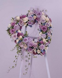 Lavender Rose Heart from Twigs Flowers and Gifs in Yerington, NV
