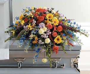 Traditional Casket Spray from Twigs Flowers and Gifs in Yerington, NV