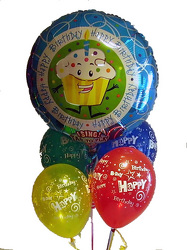 Singing Mylar Balloon Bouquet from Twigs Flowers and Gifs in Yerington, NV
