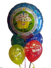 Singing Mylar Balloon Bouquet