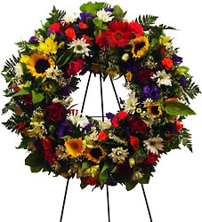 Garden Melody Wreath from Twigs Flowers and Gifs in Yerington, NV